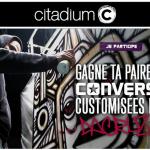 "Tirage au sort Facebook : ""Gagne ta paire de Converse customisée par Da Cruz avec Citadium"" - anti-crise.fr"