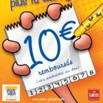 Jeu Esquissé 10€ remboursés