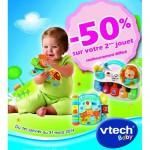 Vtech Baby le 2ème jouet 50% remboursé