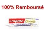 Dentifrice Colgate total pro soin gencives 100% remboursé