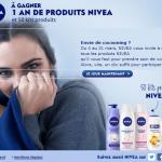 Concours : Un an de produits Nivéa à gagner + 50 kits produits