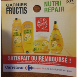 Shampoing, Après-shampoing,Masque Nutri Repair/Huile Miraculeuse Fructis - anti-crise.fr