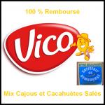 Mix Cajous et Cacahuètes Vico 100% remboursé - anti-crise.fr