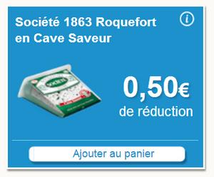 Bon Plan Carrefour 72% de Remise Sur Roquefort Société