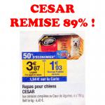 Bon Plan Carrefour 89% de Remise Sur César
