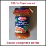 Offre de Remboursement à 100% Barilla Bolognese - anti-crise.fr