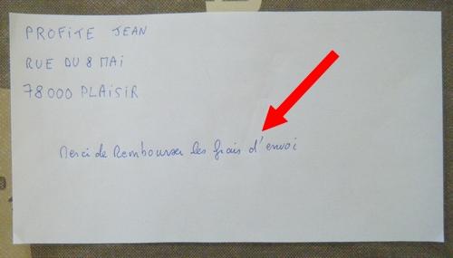 exemple demande remboursement du timbre