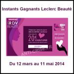 Instants Gagnants Leclerc : Des E-Cartes de 20 € à Gagner - anti-crise.fr