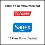 Offre de Remboursement Colgate / Sanex en 11 de Bons d'achat - anti-crise.fr