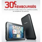 anti-crise.fr offre de remboursement tablette lenovo