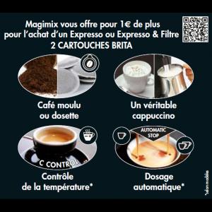 anti-crise.fr Magimix 2 Cartouches Brita Offertes