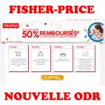 anti-crise.fr Offre de Remboursement Fisher-Price