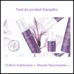 Test de produit Sampléo : H'elixir Sublissime « Beauté Rayonnante » - anti-crise.fr