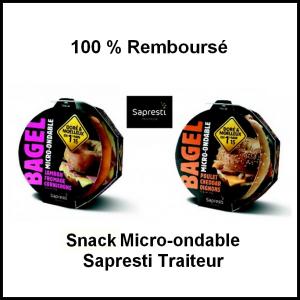 100 % Remboursé : Snack Micro-Ondable Sapresti Traiteur - anti-crise.fr