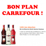 anti-crise.fr bon plan carrefour martini