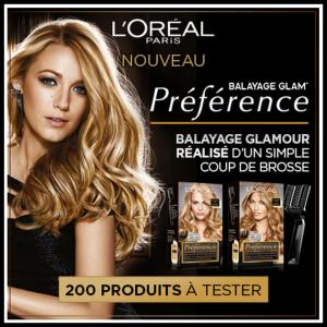 Test de Produit Beauté-Test : Préférence Balayage Glam' de L'Oréal Paris - anti-crise.fr