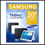 Offre de Remboursement Samsung jsuqu'à 20 € sur les tablettes - anti-crise.fr