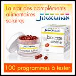 Test de Produit Beauté-Addict : Programme Bronzage Sublime Juvamine - anti-crise.fr