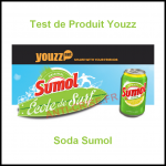 Test de Produit Youzz : Soda Sumol - anti-crise.fr