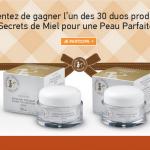 Tirage au sort Facebook : Un programme « Peau Parfaite » avec Secrets de Miel à gagner - anti-crise.fr