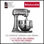 KitchenAid Pour l'achat d'un Robot Un Lot d'Accessoires offerts pour 1€ de plus - anti-crise.fr