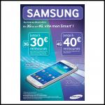 Offre de Remboursement 40 € sur Smartphone Galaxy - anti-crise.fr