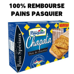 anti-crise.fr offre de remboursement Pasquier Chapata Ficelles de pain Tartines de pain