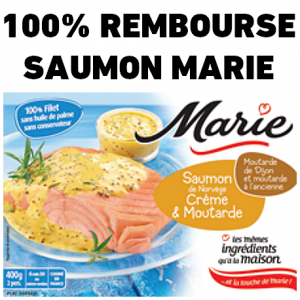 anti-crise.fr offre de remboursement marie saumon de norvège crème et moutarde