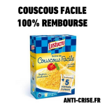 anti-crise.fr semoule de couscous facile lustucru 100% remboursée