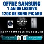 Anti-crise.fr bon plan samsung lessive offert bons picard