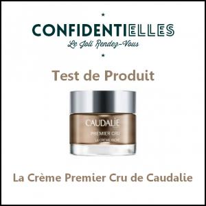 Test de Produit Confidentielles : La Crème Premier Cru de Caudalie - anti-crise.fr