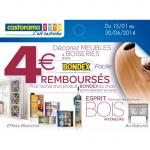Offre de Remboursement Castorama : 4 € sur les Produits Bondex - anti-crise.fr