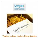Test de Produit Sampleo : La Box Vin Les Décanteuses - anti-crise.fr