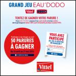 Tirage au Sort Vittel / Dodo : Parure DODO à Gagner - anti-crise.fr
