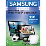 """Offre de Remboursement Samsung : 30 € pour l'Achat d'un Moniteur TV 24"""" - anti-crise.fr"""