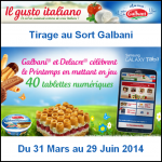 Tirage au Sort Galbani : Une Tablette Samsung Galaxy Tab 3 à Gagner - anti-crise.fr