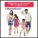 Bon plan Cdiscount : 10 € offert à partir de 50 € d'achat - anti-crise.fr