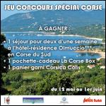Tirage au Sort Le Petit Futé : 1 séjour en Corse pour 2 personnes à Gagner - anti-crise.fr
