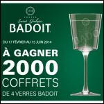 Instants Gagnants Badoit : Coffret de 4 Verres à Gagner - anti-crise.fr