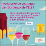 Instants Gagnants Vins de Bordeaux : Un week-end pour deux Ppersonnes dans le Bordelais - anti-crise.fr