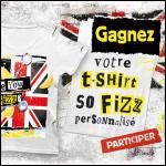 Instants Gagnants So Fizz : Tee-shirt Personnalisé à Gagner - anti-crise.fr