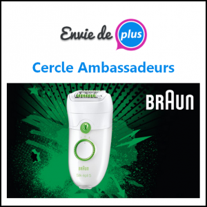 Test de Produit Envie de Plus : Braun Silk-épil 5 - anti-crise.fr
