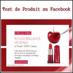 Test de Produit Yves Rocher sur Facebook : Rouge Brillance Végétale à l'Huile de Cerise - anti-crise.fr