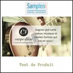 Test de Produit Sampleo : Carte Cadeau pour Un Mois de Cours de Musique Individuel - anti-crise.fr