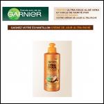 Tirage au Sort Garnier : Une Crème de Jour sans rinçage Ultra DOUX Aloé Vera et Huile de Karité Pur à Gagner - anti-crise.fr