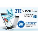 Offre de Remboursement ZTE 20 € pour l'Achat d'un Mobile Grand S Flex - anti-crise.fr