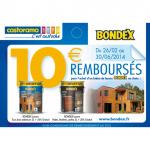 Offre de Remboursement Castorama 10 € pour l'Achat d'un Bidon de Lasure Bondex - anti-crise.fr