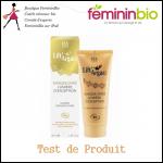 Test de Produit Féminin Bio : Masque doré Lumière d'Exception Lift'Argan - anti-crise.fr