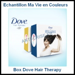 Echantillon Ma Vie En Couleurs : Box Dove Hair Therapy - anti-crise.fr