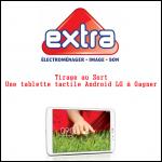 Tirage au Sort Extra : Une tablette tactile Android LG à Gagner - anti-crise.fr